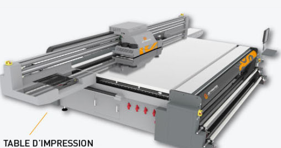 machine d impression uv grand format